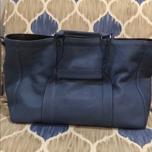 Longchamp satchel bag in blue